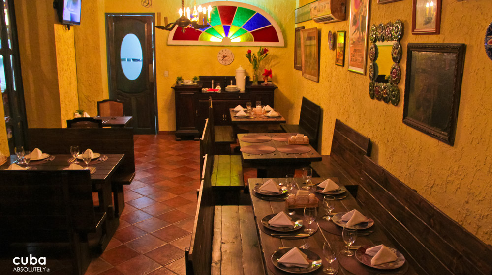La California Restaurant, Havana, Cuba