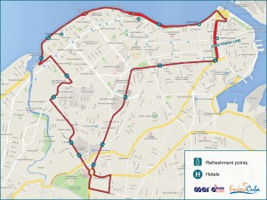 Marabana, Havana Marathon, Cuba 2015